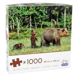 Palapeli 1000 palaa karhut Peliko