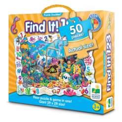 Palapeli 50 palaa Find It 123 Lattiapalapeli