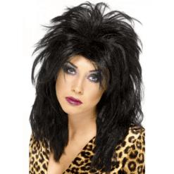 Naamiaisasu Peruukki 80-luvun Popstar