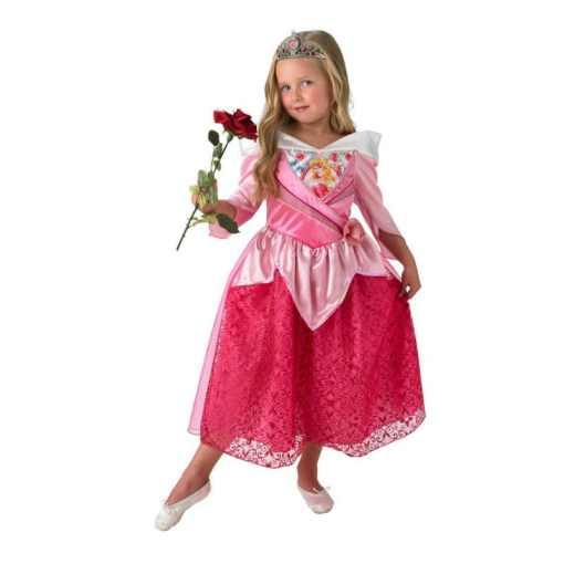 Prinsessa mekko Ruusunen 3-4 V