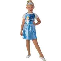 Prinsessa-asu Tuhkimo 3-6-vuotiaille