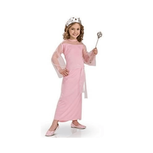 Prinsessa mekko pinkki 3-4 vuotiaille