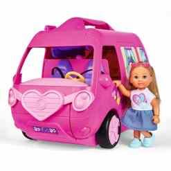 Steffi Evi ja matkailuauto