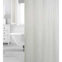 Suihkuverho 180 x 200 cm Hilton White