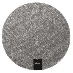 Tabletti pyöreä 38 cm harmaa