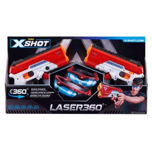 X-Shot Laser 360 Blaster setti