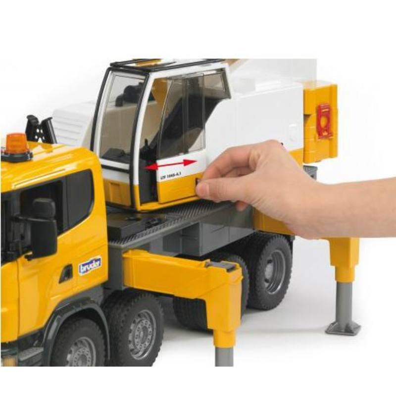 Bruder Nosturiauto Scania R Series Liebherr Crane Truck Muovi Ja