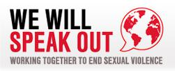 We will speak out logo