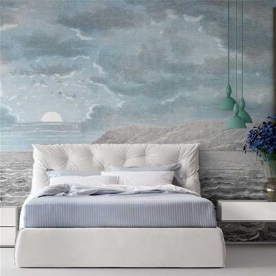 papier peint chambre adulte ciel et mer sky