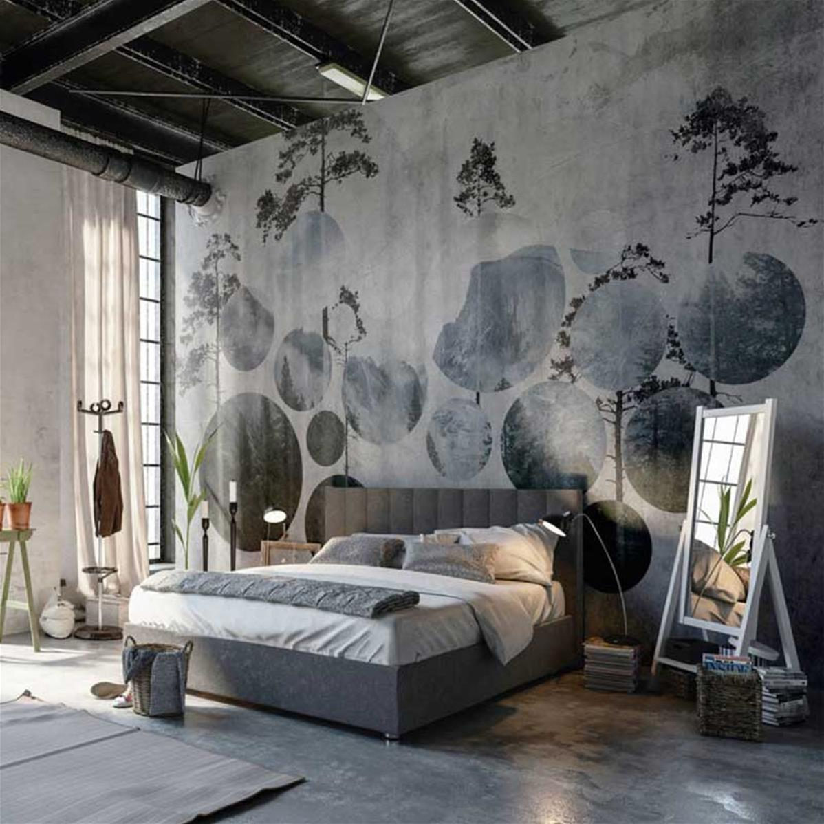 papier peint haut de gamme chambre naturally