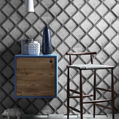 papier peint aspect beton industriel nevermind