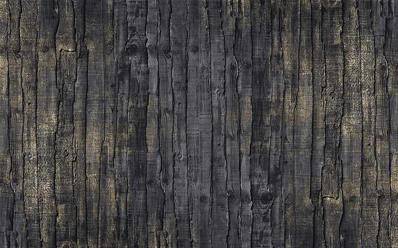 papier peint imitation bois noir caress