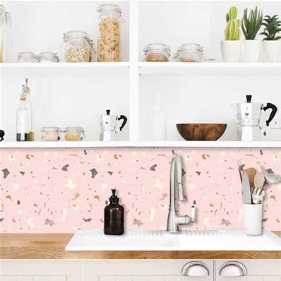 credence adhesive cuisine rose pastel granity