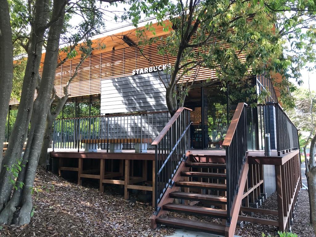 スターバックスコーヒー浜松城公園店