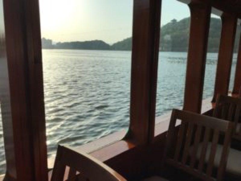 浜名湖遊覧船、客室