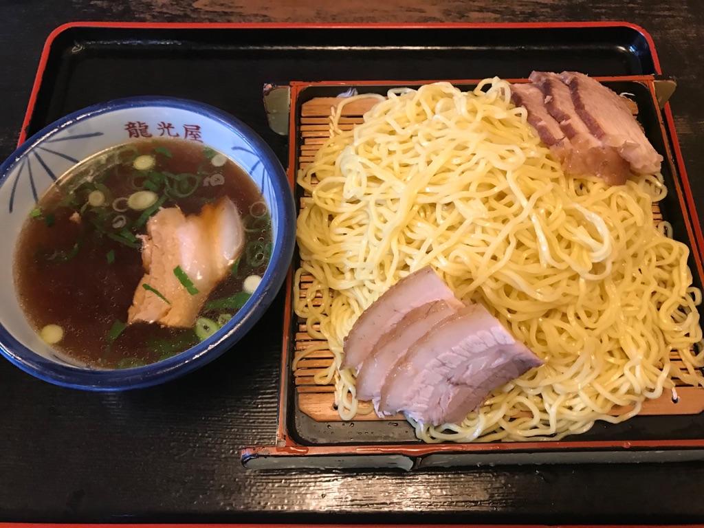 龍光屋、つけ麺