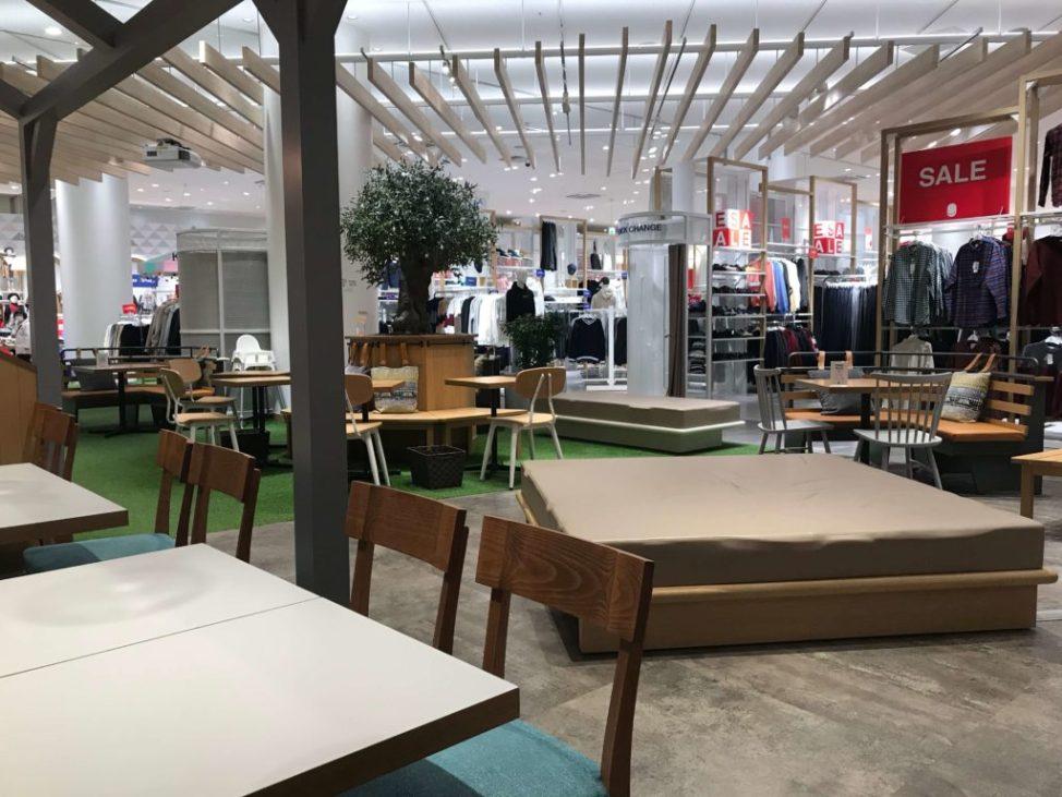 GLOBAL WORK CAFE(グローバルワークカフェ)の店内は広い
