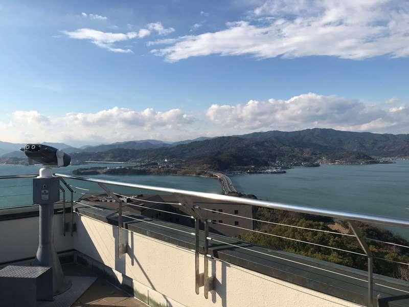浜名湖オルゴールミュージアムの屋上展望台