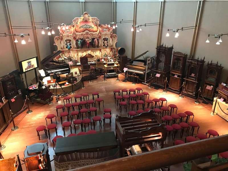 浜名湖オルゴールミュージアムのコンサートホール