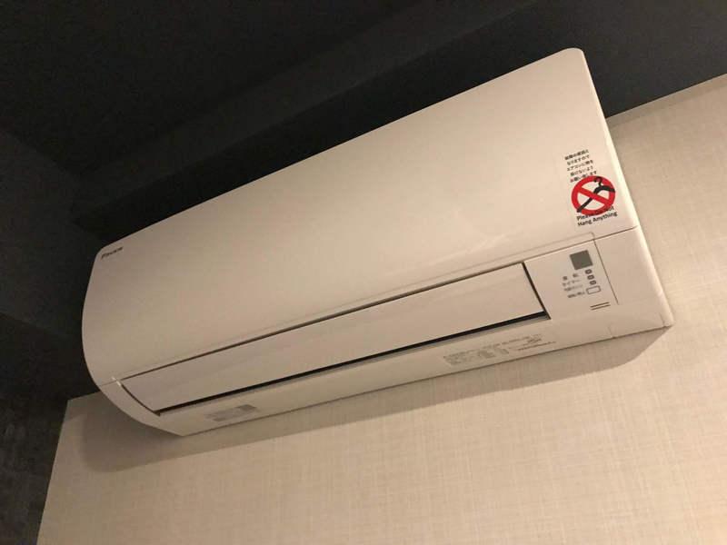 ホテルリブマックスPREMIUM梅田EASTのエアコン
