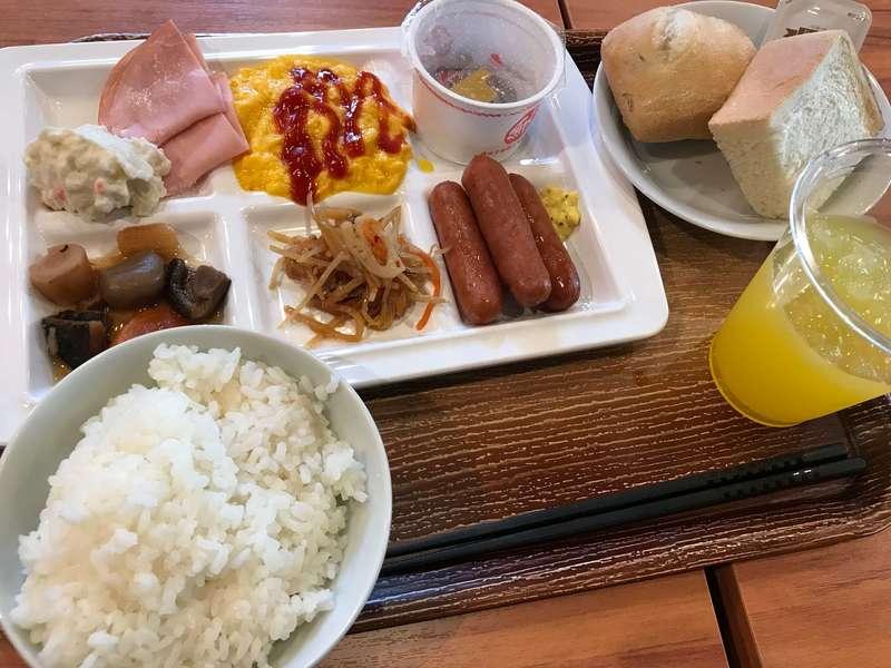 ホテルリブマックスPREMIUM梅田EASTの朝食