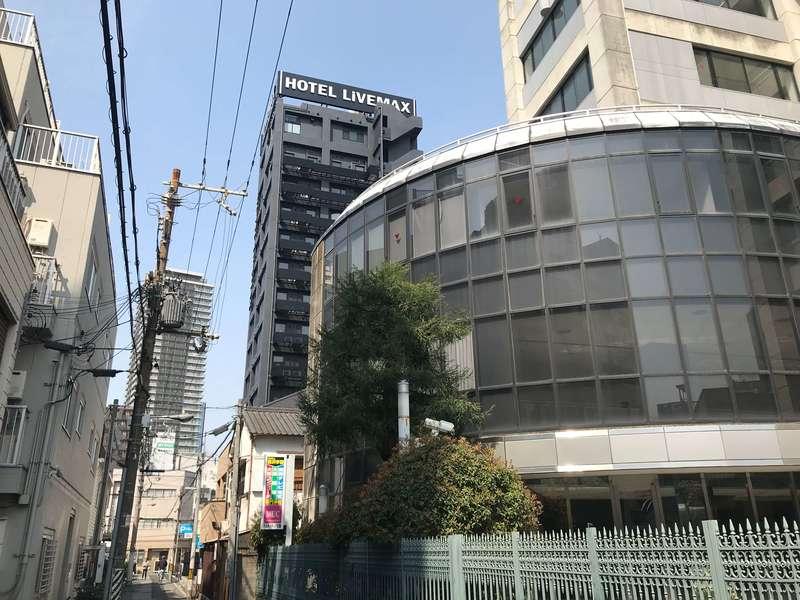 ホテルリブマックスPREMIUM梅田EASTの外観