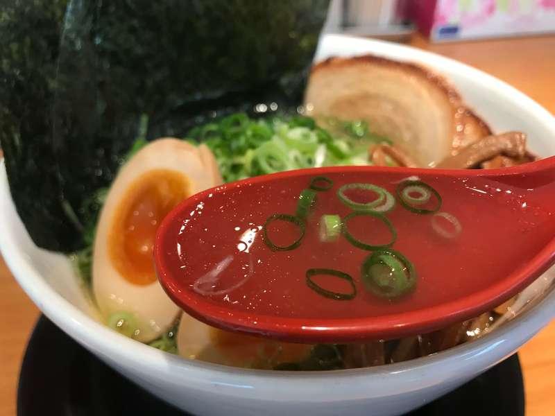 麺屋燕袋井店のスープ