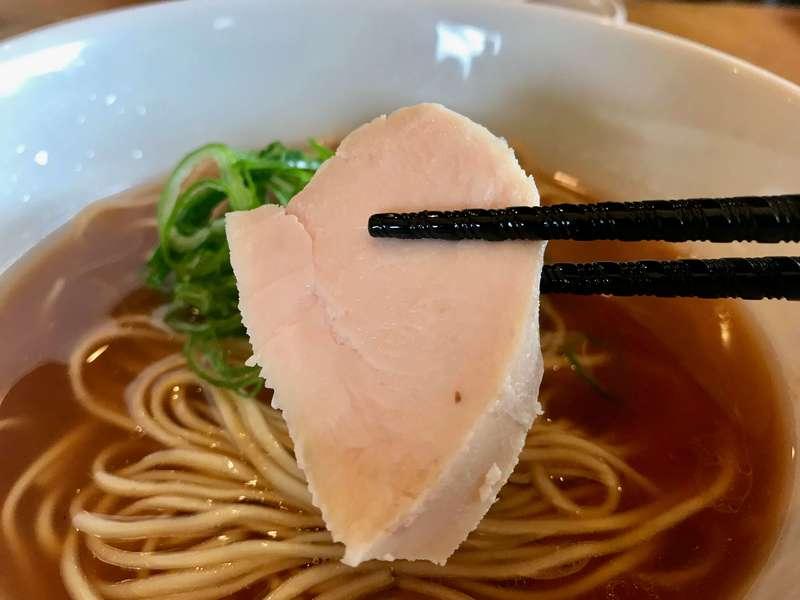 らぁ麺めん奏心の鶏チャーシュー