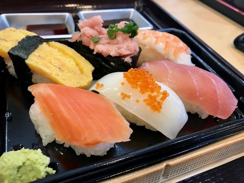御前崎海鮮なぶらの握り寿司