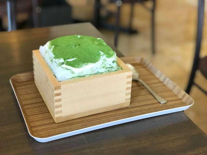 TOSCA(トスカ)の宇治抹茶クリームのケーキ氷