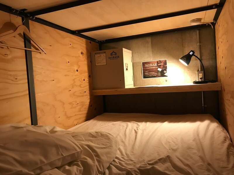 365BASEのベッド