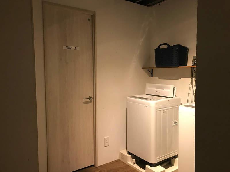 365BASEのシャワー室