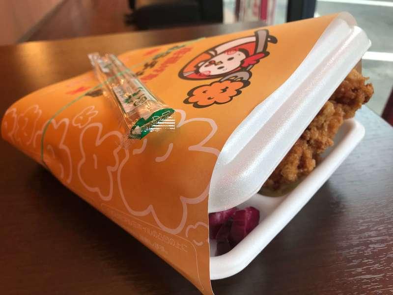 唐揚げ専門店からチキ本舗浜松店の弁当