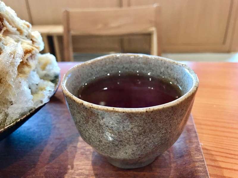 巌邑堂のお茶