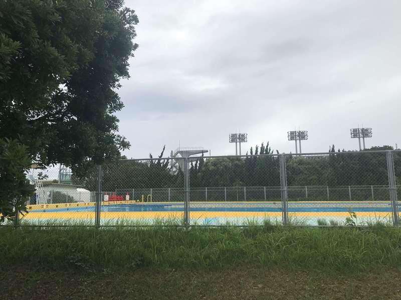 江之島水泳場の25mプール