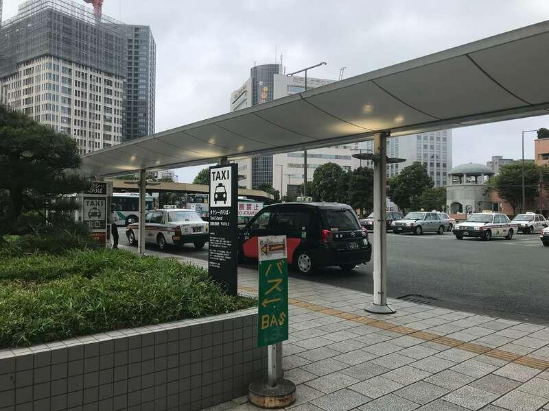 浜松駅北口タクシー乗り場