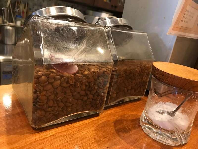 サントスのコーヒー豆