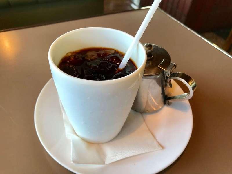 けやき北島店のアイスコーヒー