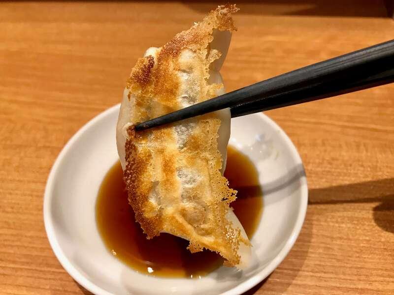 浜太郎小池町店の餃子