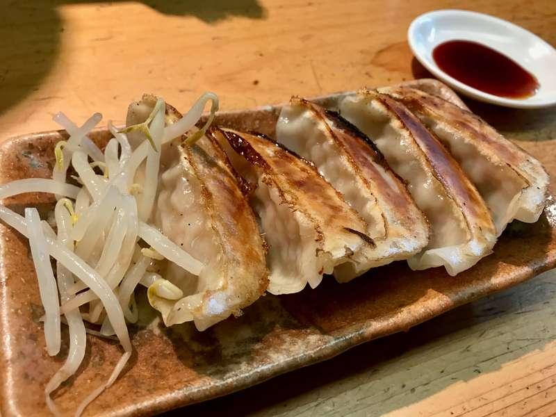 民民浜松有楽街店の浜松餃子