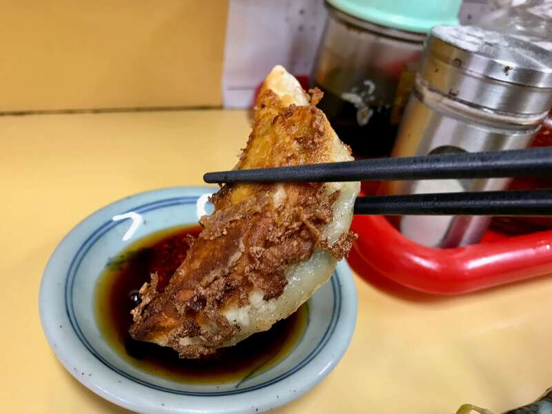 中華料理華楽の餃子