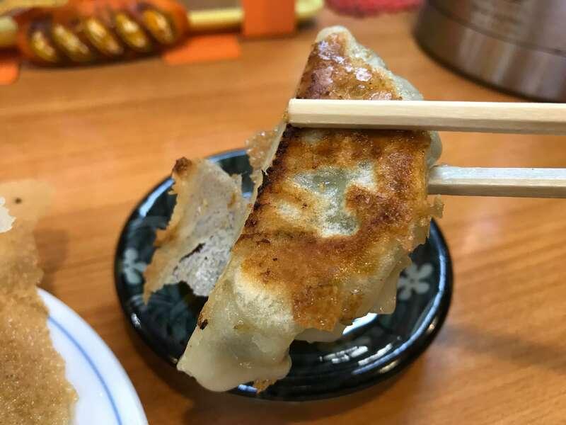 らーめんの店貴布禰の餃子