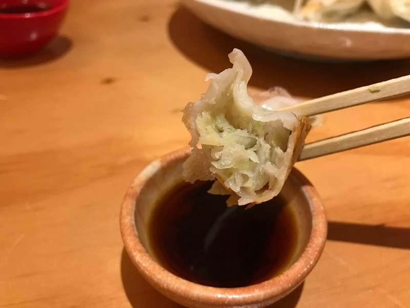 餃子の遠州の餃子の餡