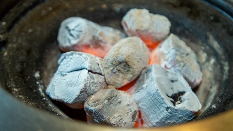 炭火焼肉三愛の炭