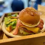 グレイトフルズ浜松きたたまち店のハンバーガー