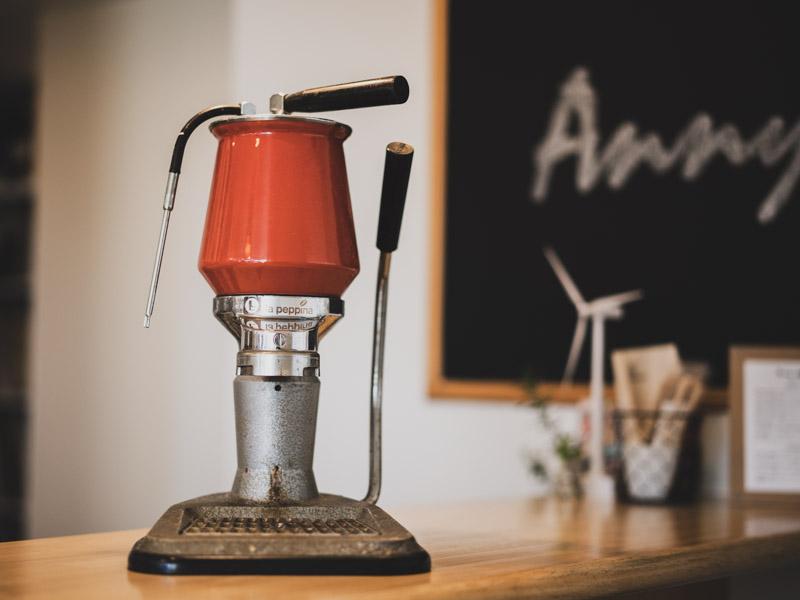 Annycoffeeのコーヒーマシン