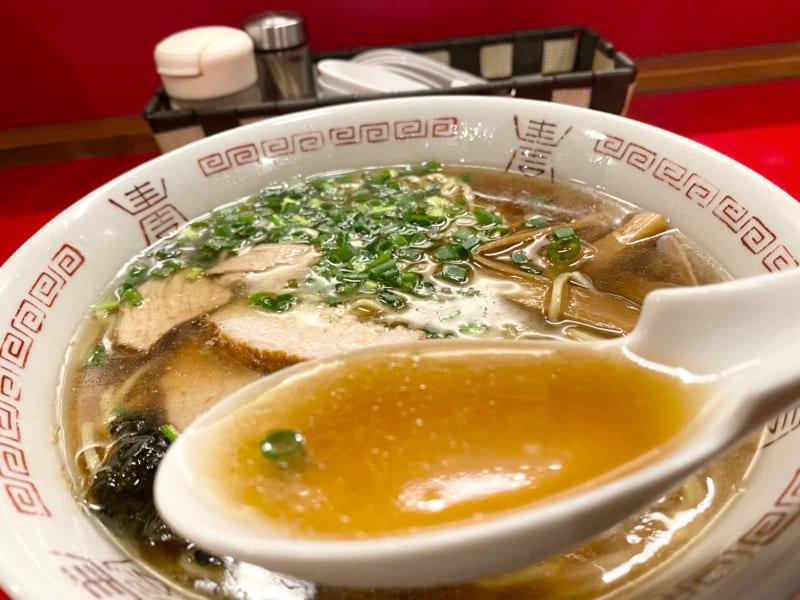 中華そば 浪花のスープ