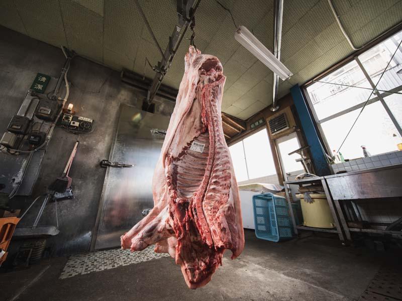 天竜ハムのお肉
