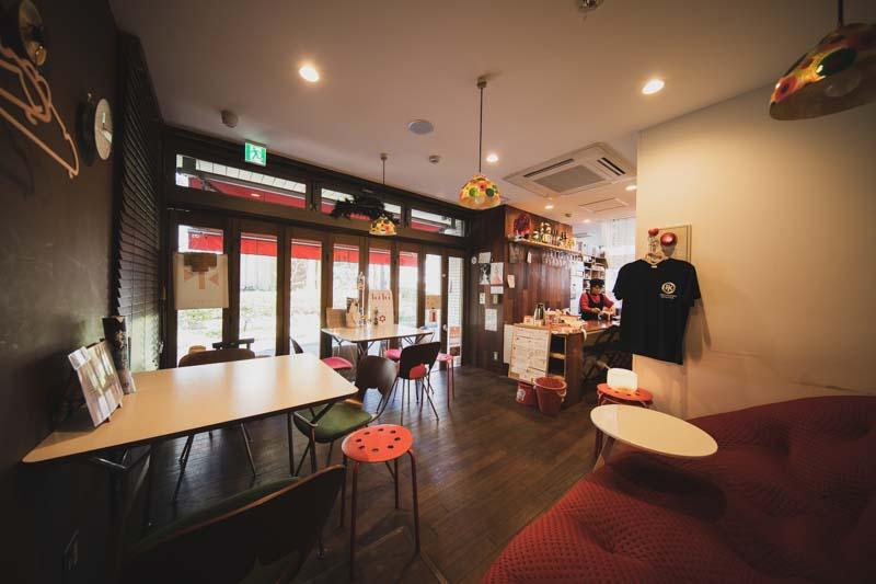 kiki Cafe&bar内観