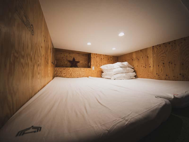 365BASE2段ベッドの上段